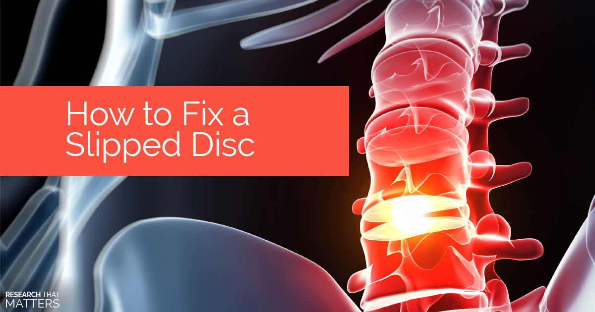 Week 3 - How to Fix a Slipped Disc