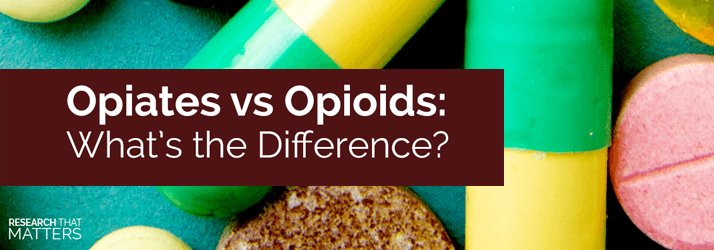 Chiropractic Georgetown ON - Opiates vs Opioids Whats the Difference hero
